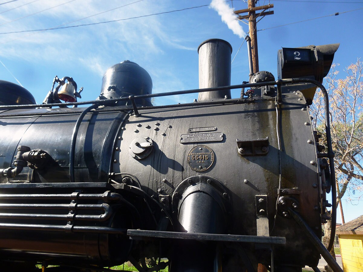 A vintage train at the Southern California Railway Museum | Sandi Hemmerlein