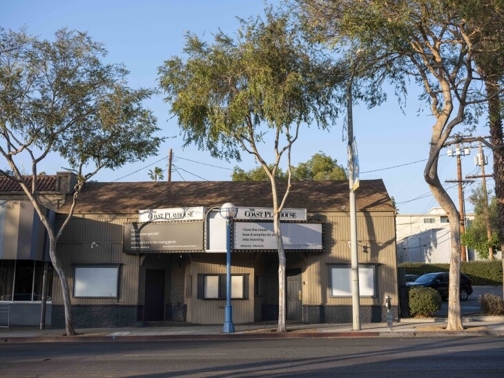 The Coast Playhouse in West Hollywood is currently shuttered due to COVID-19. | Chava Sanchez/LAist