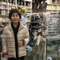 Janet Jung has owned a beauty supply store in Venice for 30 years. Seniors are being asked to self-isolate to avoid infection with the coronavirus.   Emily Guerin/LAist