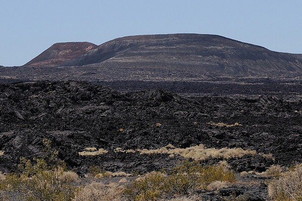 Pisgah Crater, not erupting   Creative Commons photo by Bighornplateau1
