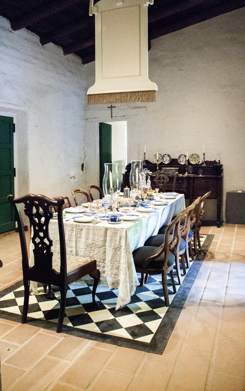Dining Room in La Casa de Estudillo
