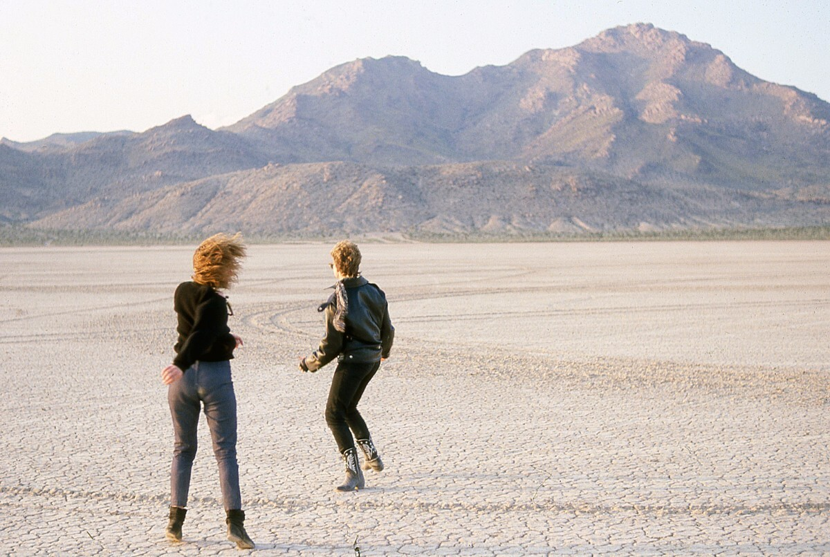 2 lone dancers, Desolation Center: Mojave Exodus, 1983 | Scot Allen