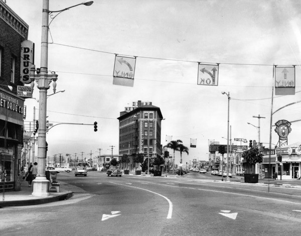 Culver Hotel, 1961 | Herald-Examiner Collection, courtesy of the Los Angeles Public Library
