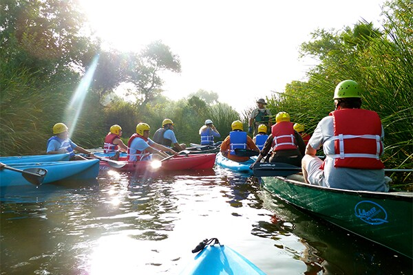 First ever kayak trip down the L.A. River as part of Paddle the L.A. River