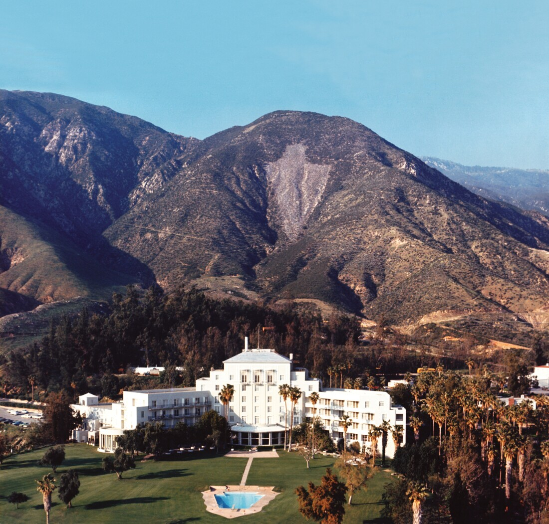 Arrowhead Springs hotel, circa 1980 | The collection of The Campus Crusade For Christ 1100px