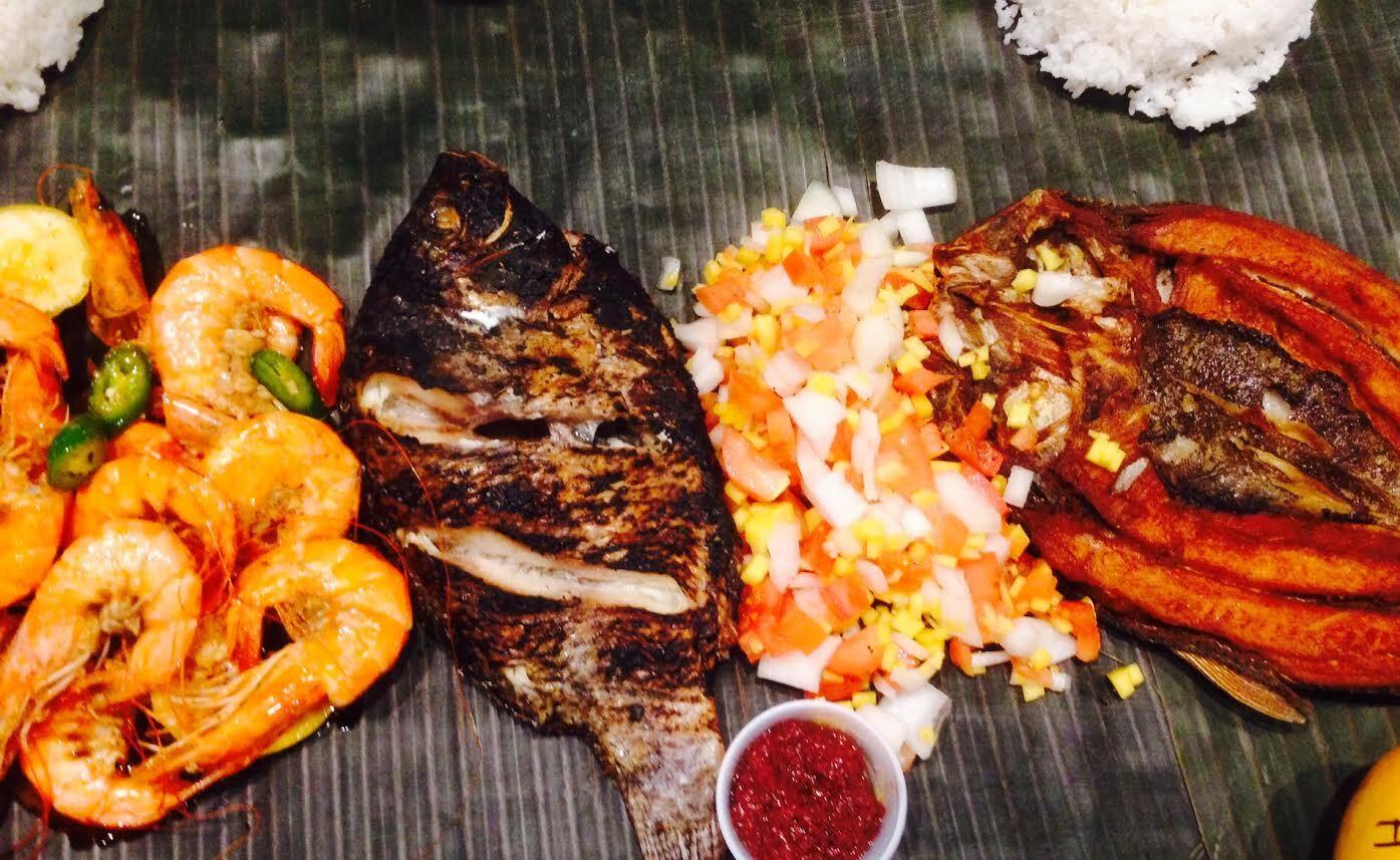 Kamayandining with grilled fish, boneless milkfish and mango salsa | Daniel Belen