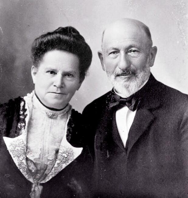Sarah and Harris Newmark, circa 1890.