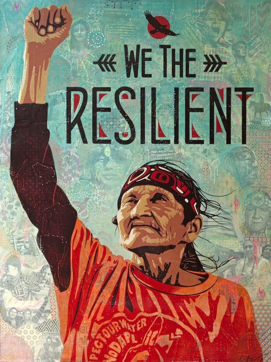 """Ernesto Yerena, """"We The Resilient"""""""