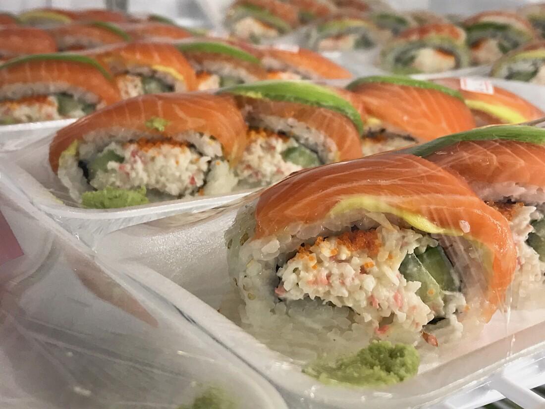 Yama Seafood California Roll