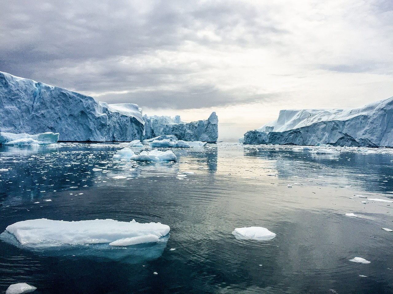 """Glaciers in Greenland in  """"An Inconvenient Sequel: Truth to Power"""""""