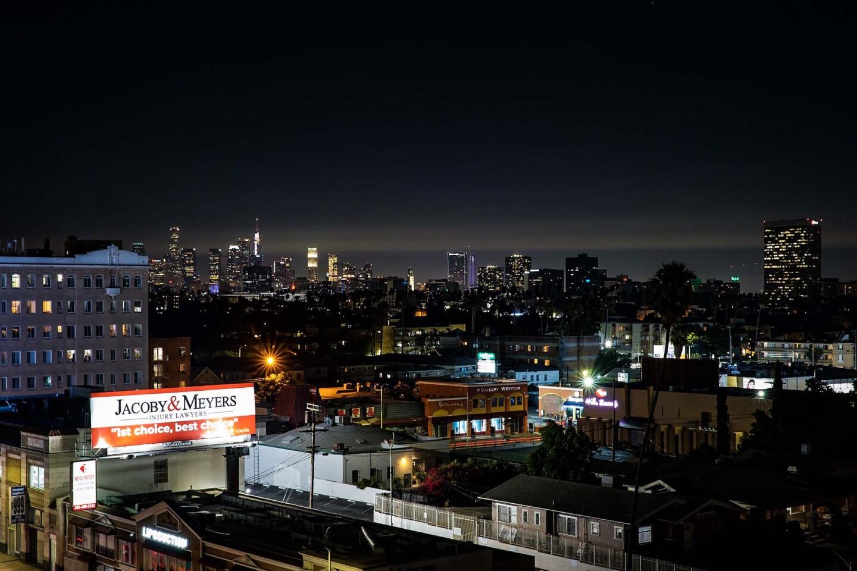Los Angeles Skyline, 2019. | Kwasi Boyd-Bouldin