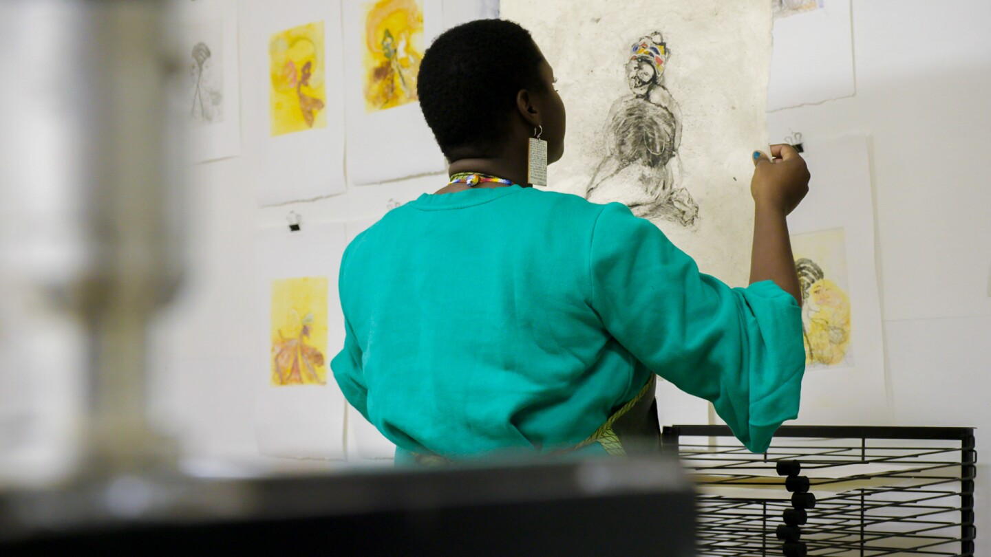 """Kenyatta painting 