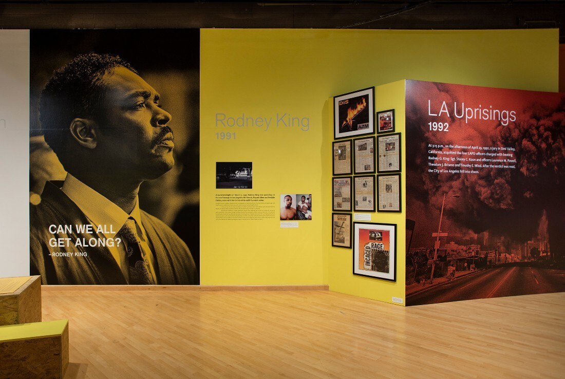 LA Riots exhibition at California African American Museum | Brian Forrest