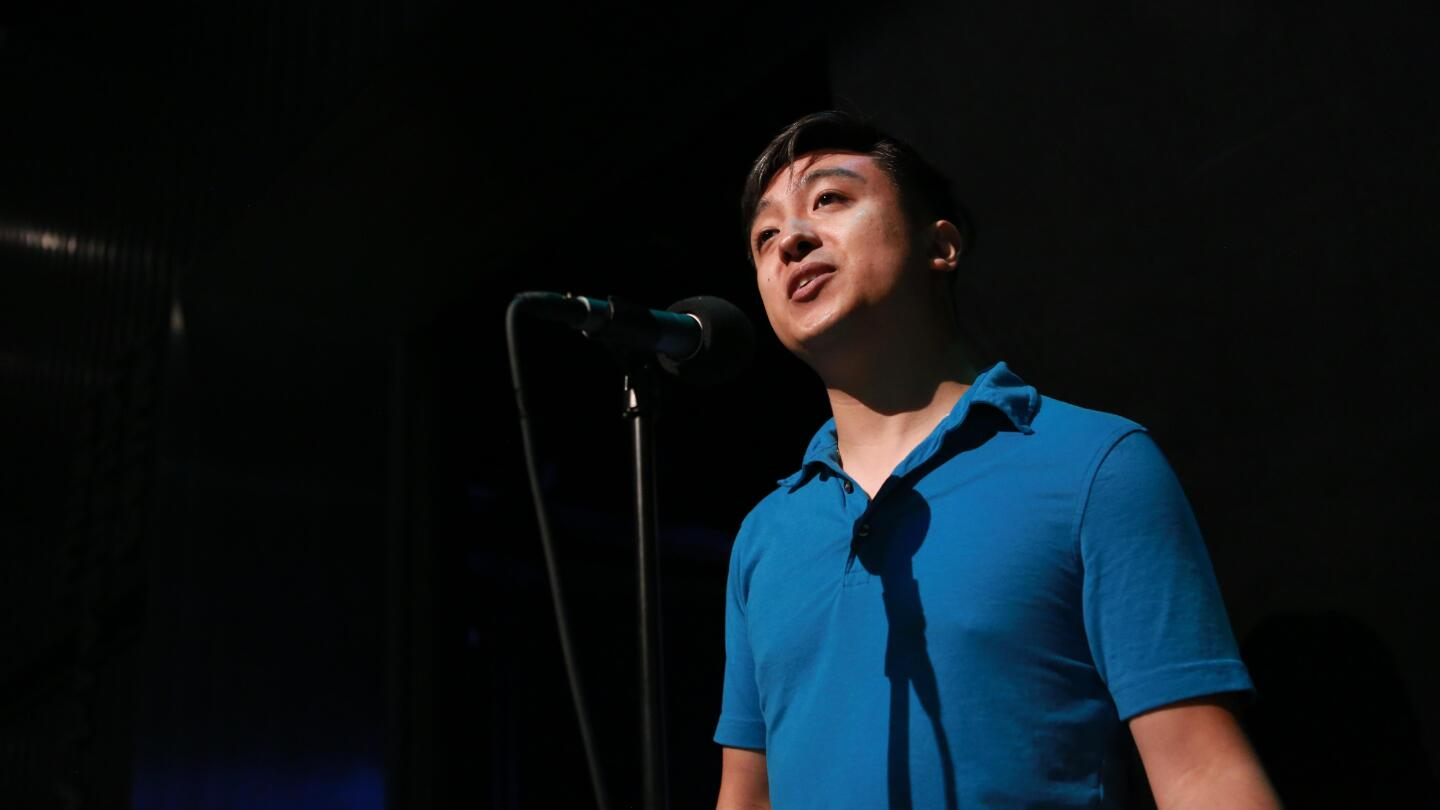 "Matthew Sablan talks about spinning a nightmare date into a life lesson and lasting friendships on ""Stories from the Stage: Make It or Break It."""