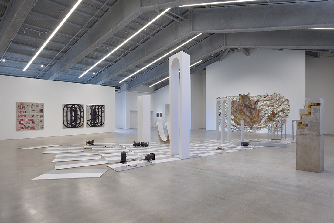 The temple now houses the contemporary art of the Marciano Art Foundation. I Robert Wedemeyer / Courtesy of Marciano Art Foundation