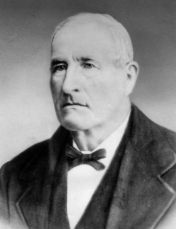 """Joseph """"José"""" Mascarel, French immigrant to California and mayor of Los Angeles from 1865-66."""