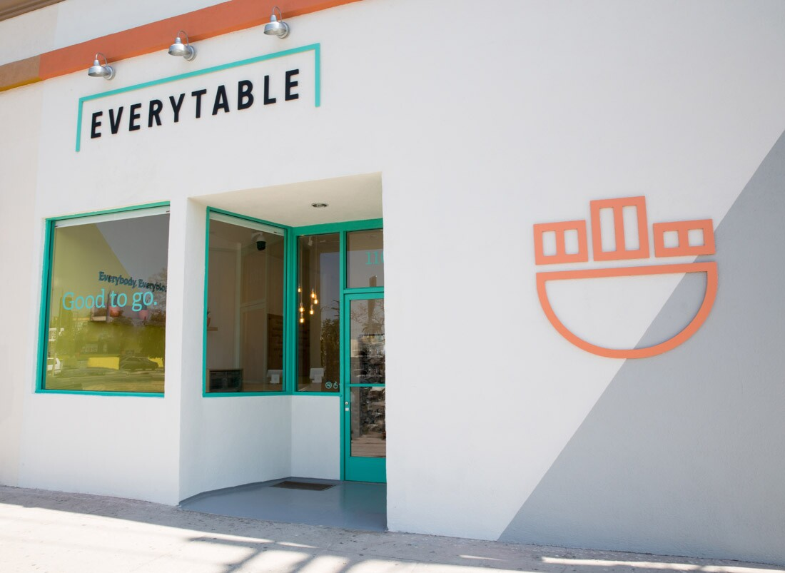 Everytable Exterior Signage