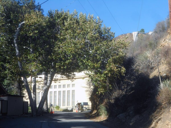 LADWP's Power Station 1 in San Francisquito Canyon.