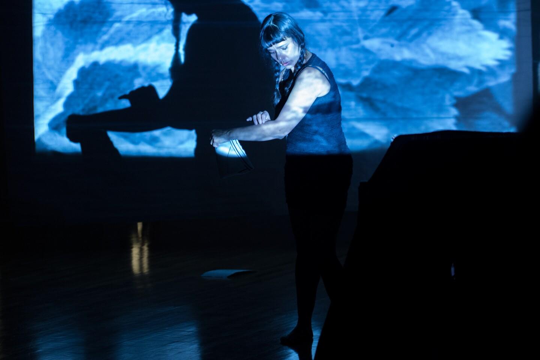 Rosy Simas Danse performing at UCR ARTSblock's 2015 Indigenous Choreographers at Riverside event