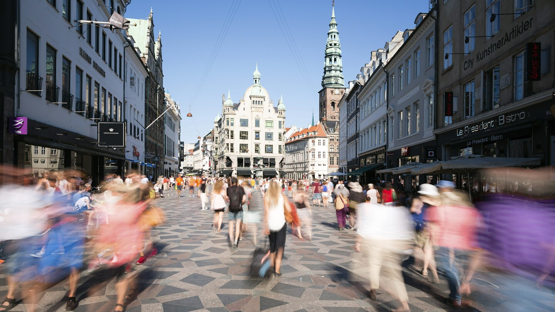 Pedestrians in Copenhagen
