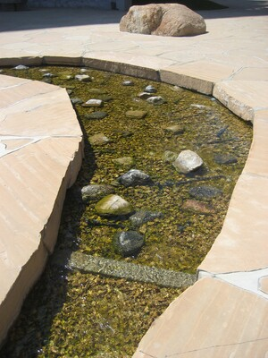 Isamui Noguchi sculpture garden California Scenario I Photo by Kathryn Poindexter