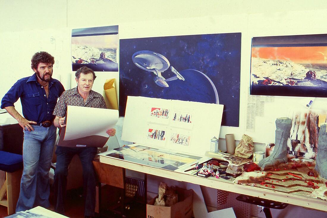 Harold storyboarding | Courtesy of Adama Films/ Zeitgeist Films