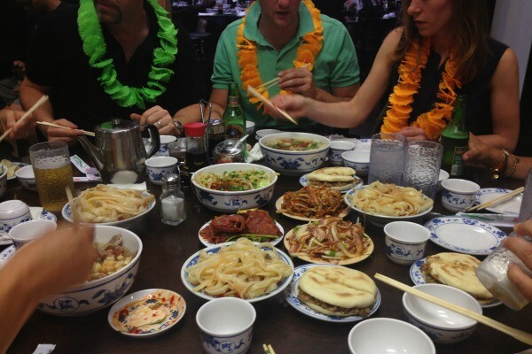 Xi'an feast | Photo by Clarissa Wei