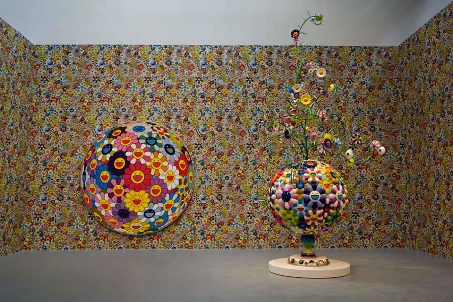Takashi Murakami exhibition at MOCA 2007