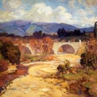 ''Arroyo Seco Bridge'' Franz Bischoff, 1915