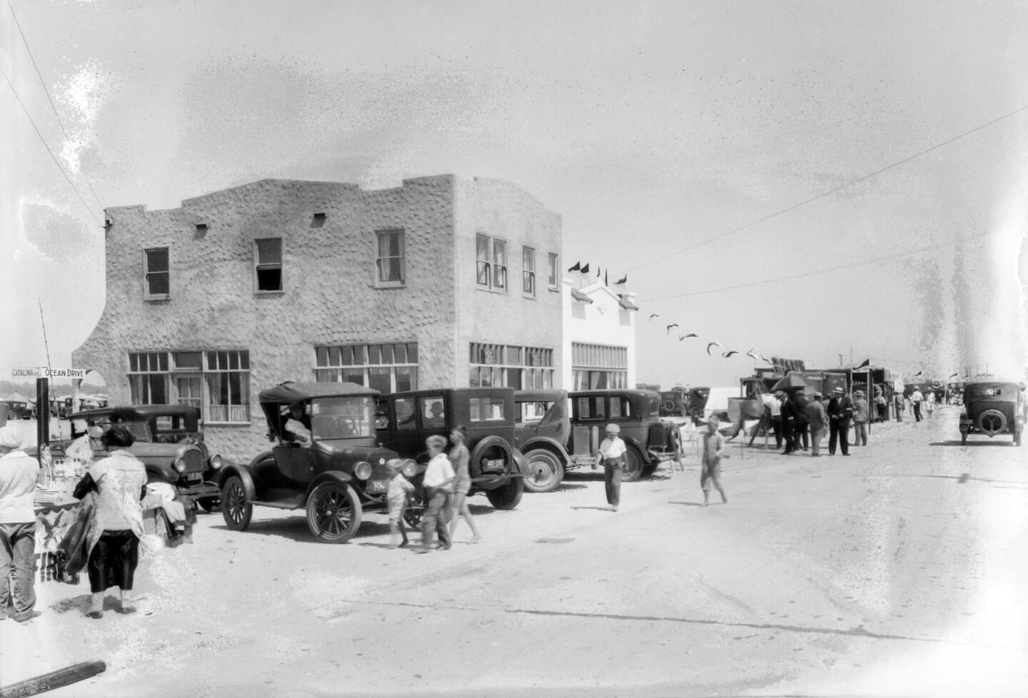 Hollywood-by-the-Sea in 1927. Courtesy of the USC Libraries - Dick Whittington Photography Collection.