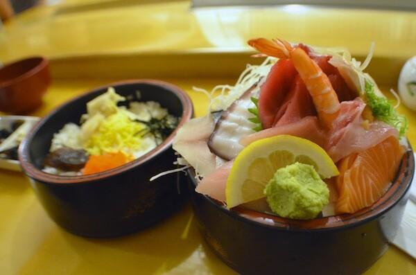 Chirashi bowl   Photo by Clarissa Wei