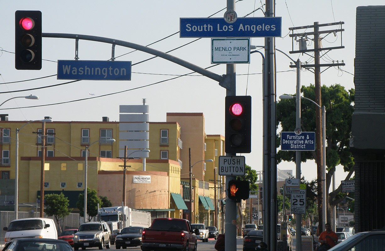 Signs Showing South Central Branding: South Los Angeles, Furniture & Decorative Arts, Menlo Park