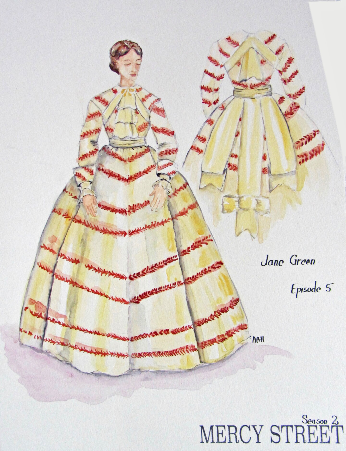 Jane Costume - Mercy Street