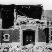John Muir School damaged in Long Beach Earthquake 1933