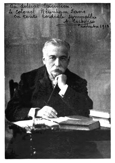 Auguste Escoffier   Wikimedia Commons