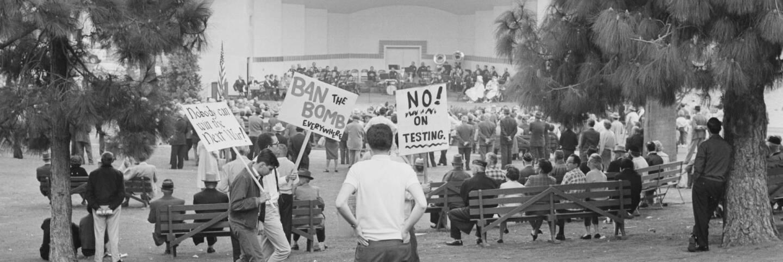 MacArthur Park protest
