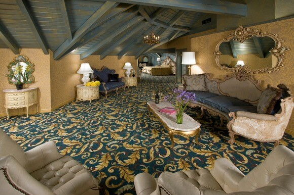 The Austrian suite at the Madonna Inn in San Luis Obispo. | Photo: Courtesy of Madonna Inn.