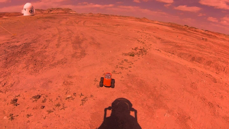 MDRS Hab,rover and astronaut | Kavya Manyapu