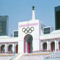 olympic coliseum los angeles 1984