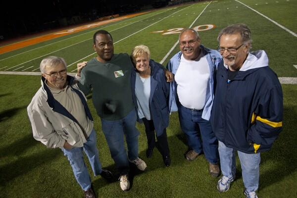 Charles Beaty, Susan Rainey, Mike Bartee, Dale Kinnear.   Photo: Douglas McCulloh