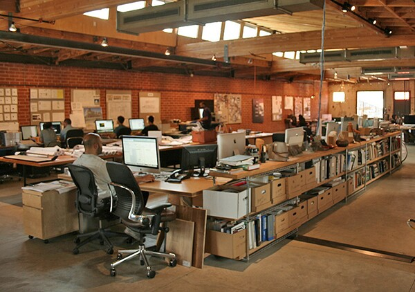 The interior of RAC Design Build Studio