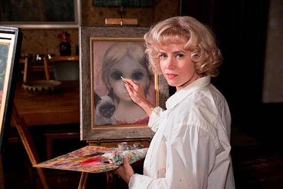 """Amy Adams as Margaret Keane in the film """"Big Eyes.""""   Photo courtesy of The Weinstein Company."""