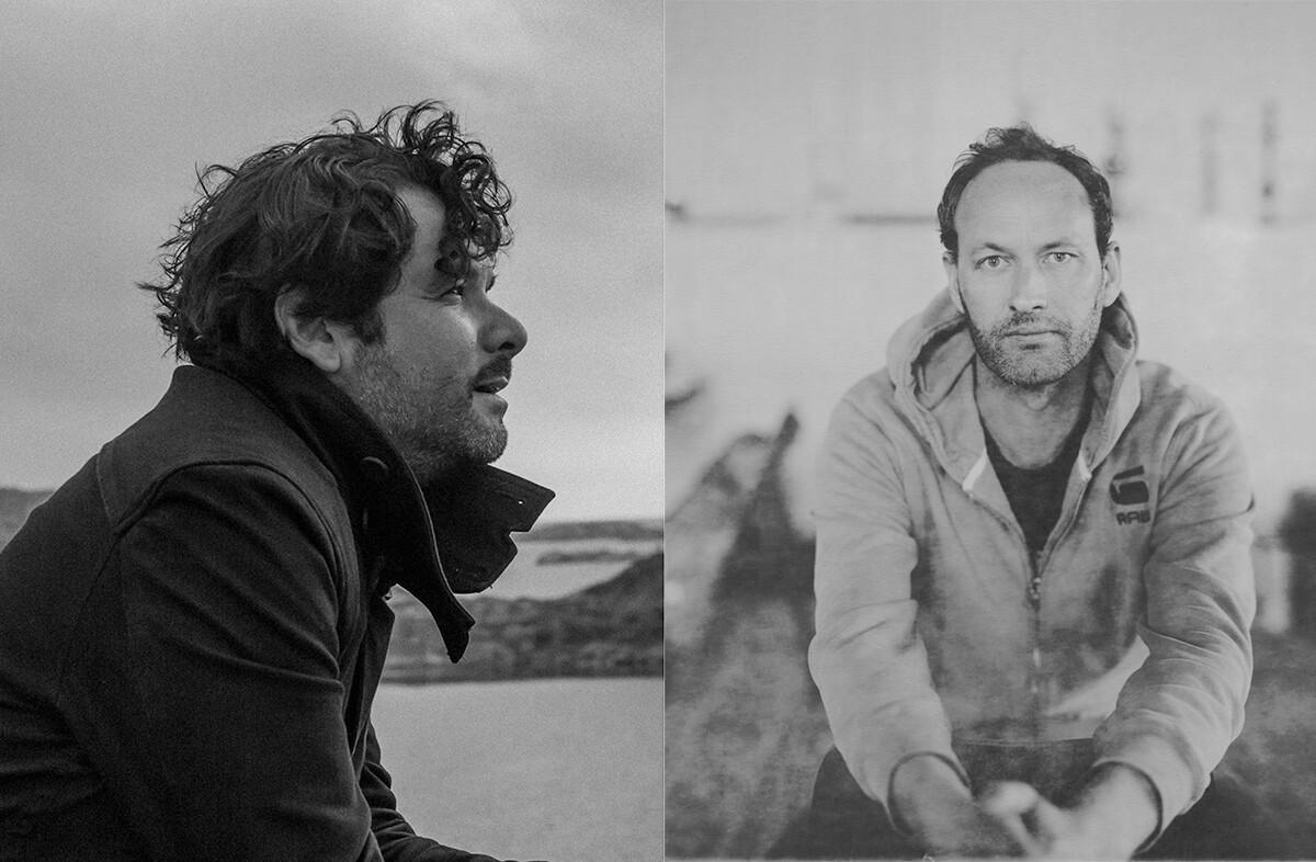 Max La Rivière-Hedrick and Julio César Morales by Matt Martinez | La Rivière-Hedrick's photo by Heimo Schmidt and Morales' by Matt Martinez