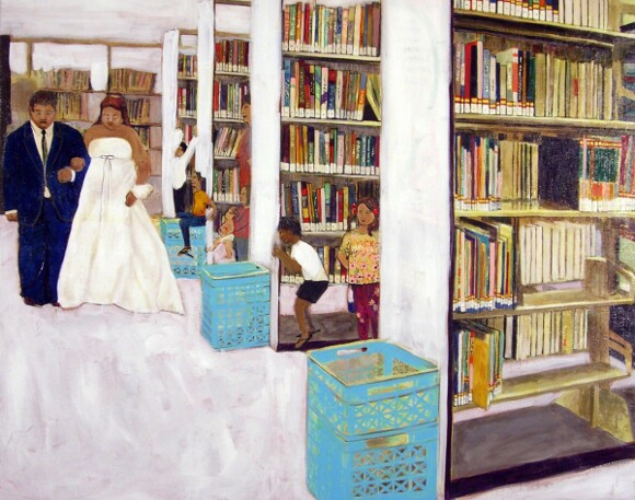 """Library Wedding"" by Katie Herzog."