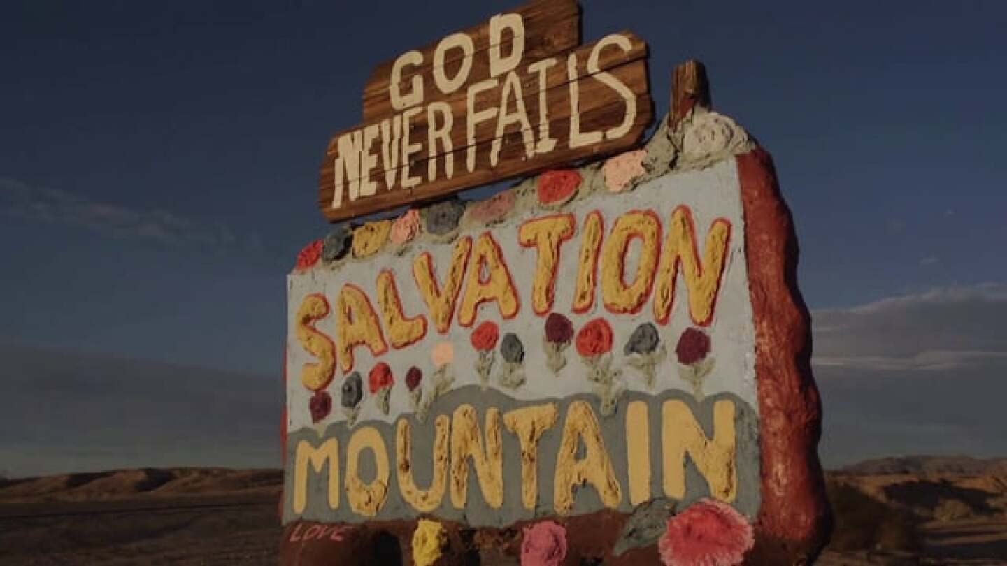 Leonard Knight and Salvation Mountain:  A Story of Love.