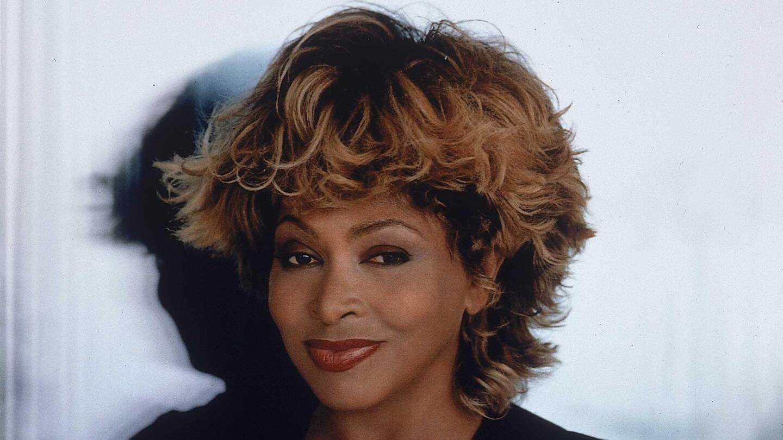 Portrait of Tina Turner.
