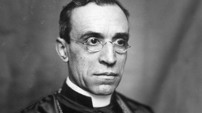 Portrait of Catholic priest John LaFarge.