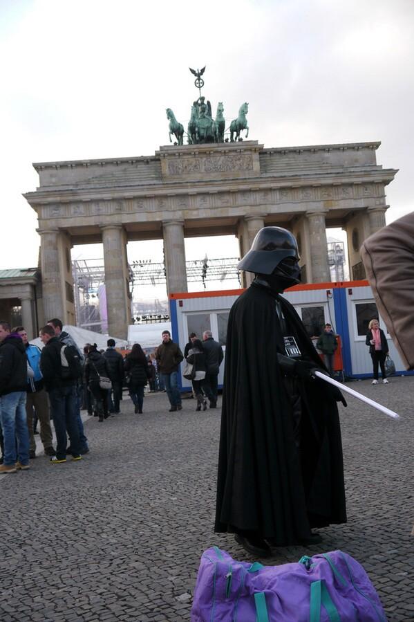 Dark Lord at Brandenburg Gate