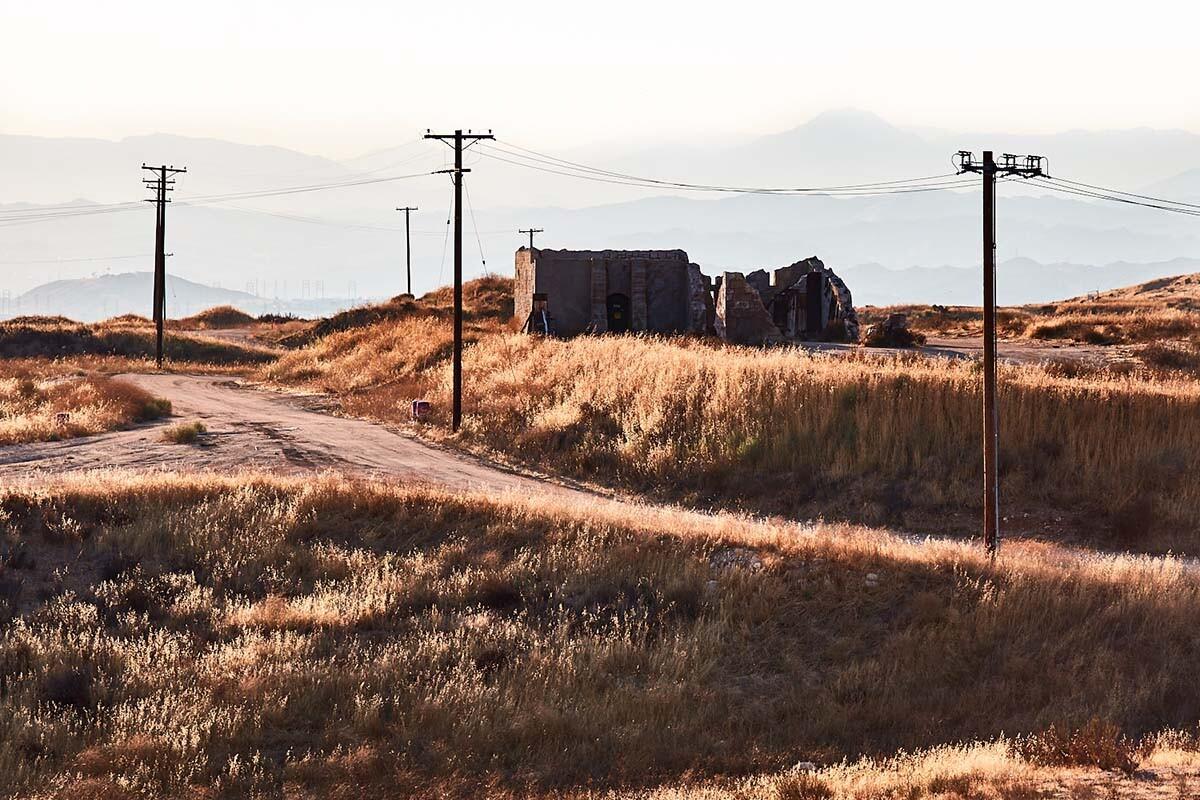 Movie Set Exterior – Whittaker-Bermite Site – Santa Clarita, CA – 2017 | Osceola Refetoff