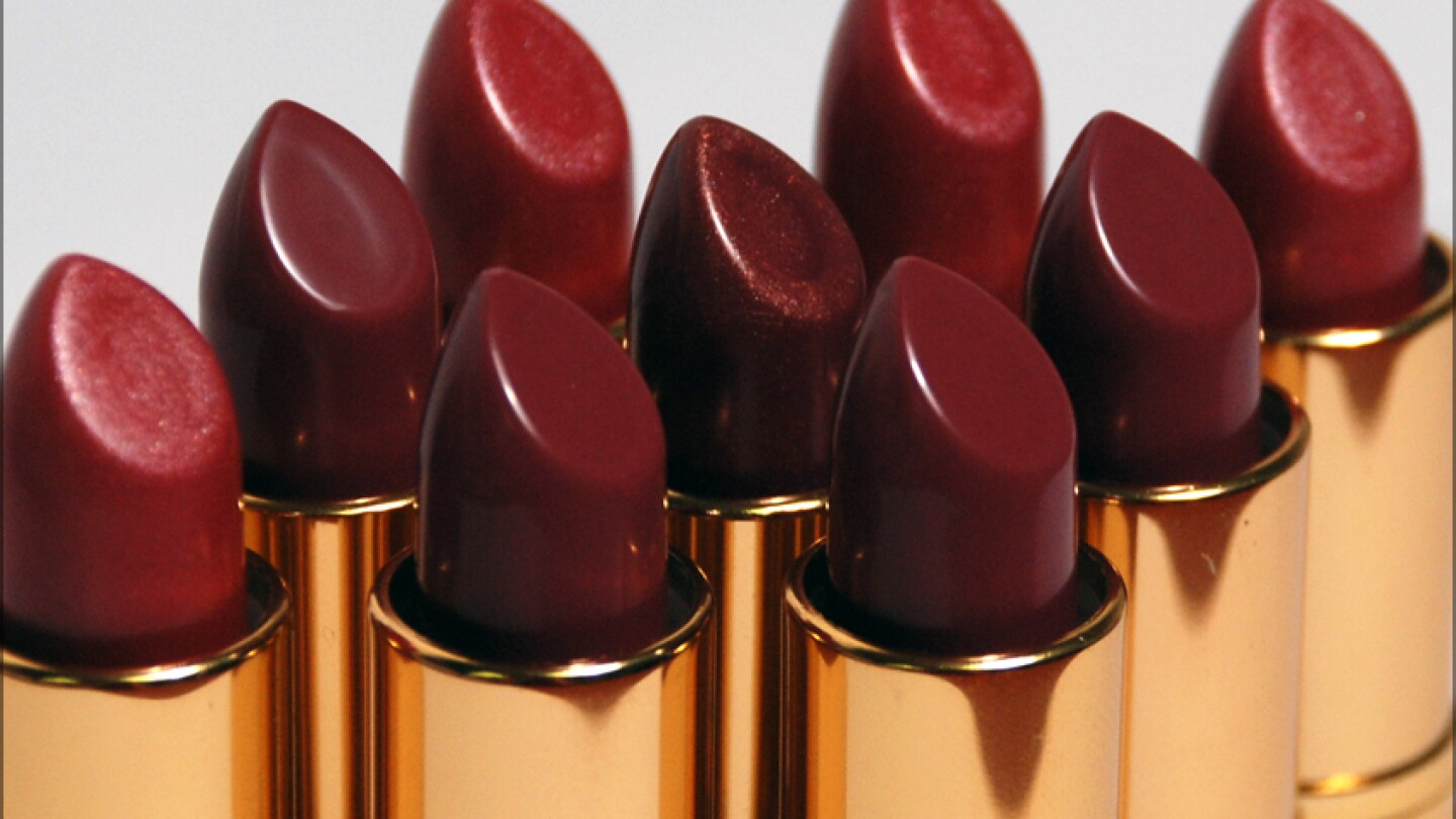 Lipstick is made with paraffin wax, which is made from petroleum byproducts.|Lynette Olanos/Creative Commons